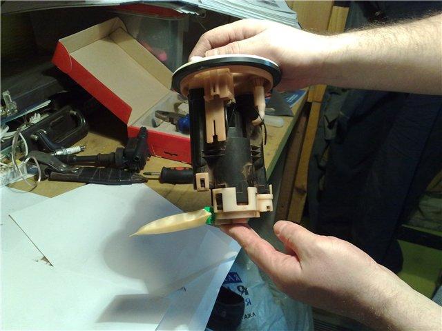 Насоса и топливного фильтра на lancer 9
