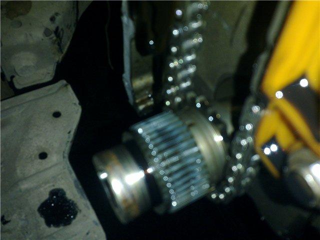 Митсубиси лансер 10 1.5 замена цепи грм